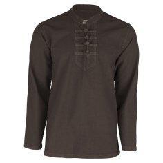 پیراهن مردانه کد p.ch.y.05  رنگ یشمی
