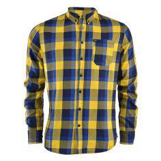 پیراهن مردانه کی وان ایکس مدل  Check Ball Shirt