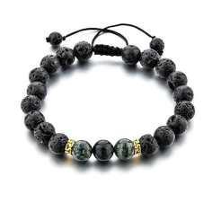 دستبند مردانه نازنین مدل CC-AZ-106