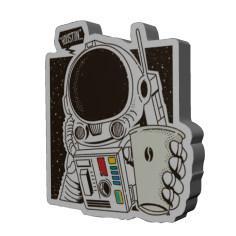 پیکسل طرح فضانورد کد 16