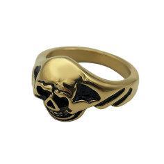 انگشتر مردانه طرح اسکلت مدل Punisher کد Ta-R02