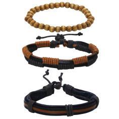 دستبند مردانه کد chf06 مجموعه 3 عددی