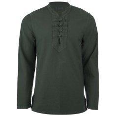 پیراهن آندیا چهارگره سبز یشمی