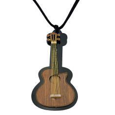 گردنبند گالری عزیزی طرح گیتار مدل GZ98778