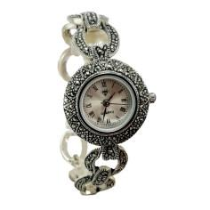 ساعت مچی عقربه ای نقره زنانه کد DN105