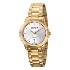 ساعت مچی عقربه ای زنانه بونیا کد BNB10328-2217S