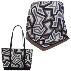 ست کیف و روسری زنانه کد 980241-T1