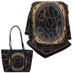 ست کیف و روسری زنانه کد 981021-T1