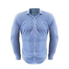 پیراهن مردانه کد PVLFZ9904B4 رنگ آبی روشن