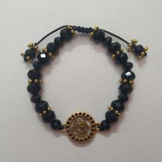 دستبند مدل گل رز کد HN1582