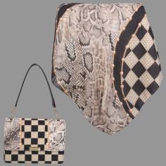 ست کیف و روسری زنانه کد T2-980708