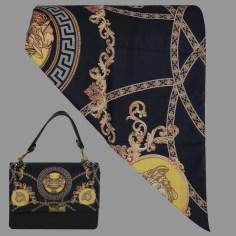 ست کیف و روسری زنانه کد T2-990711