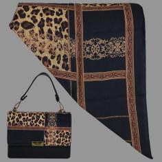 ست کیف و روسری زنانه کد  T2-990629