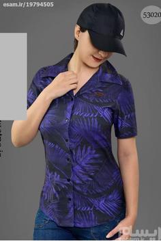 پیراهن طرح دار زنانه