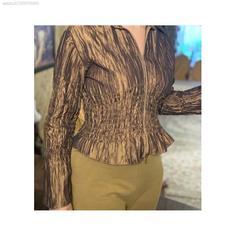 بلوز آستین بلند زنانه فری سایز